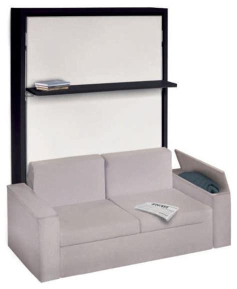 lit escamotable avec canape integre armoire lit avec canap 233 int 233 gr 233 pour un v 233 ritable gain de