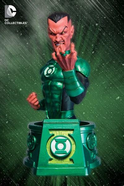 Dc Blackest White Lantern Sinestro Bust dc collectibles blackest sinestro as green lantern