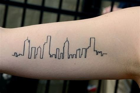 city skyline tattoo ideas tattoo com