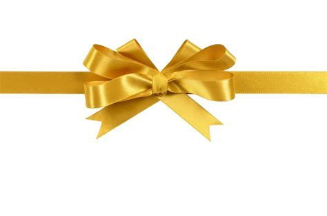 Gold Ribbon PNG Picture   PNG Arts