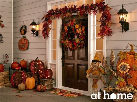 fall decorations for the home 1000 ideas about thanksgiving decorations outdoor on