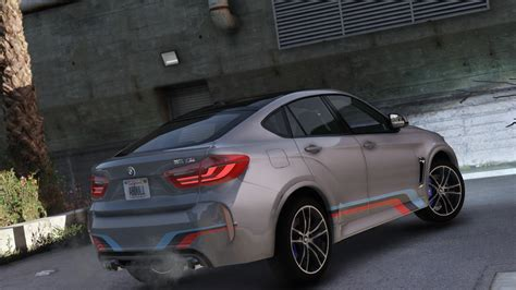 livery bmw 2016 bmw x6m add on replace tuning livery gta5