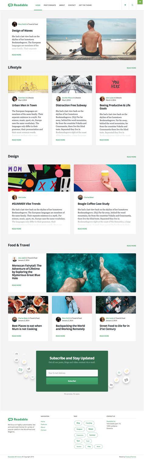 blog theme like medium generous wordpress theme like medium images exle