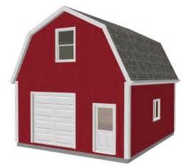 20 X 24 Garage Plans Download 20 X 24 Gambrel Shed Plans Goehs