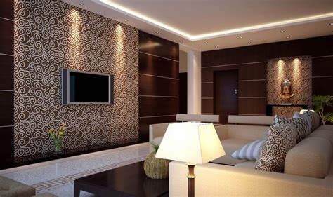 wallpaper livingroom 3d view of wallpaper for living room 3d house free 3d