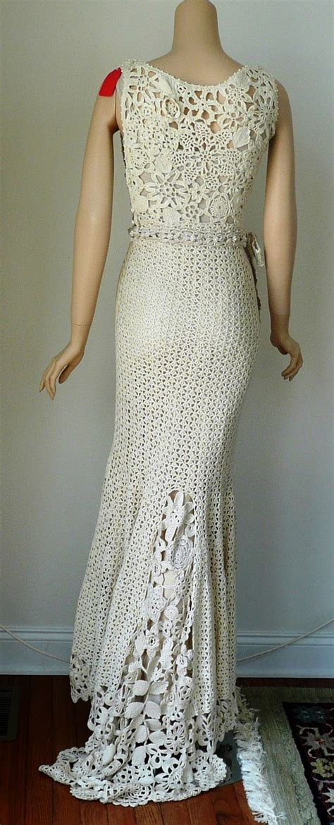 pattern for net dress crocheted dress pattern wedding crochet and knitting