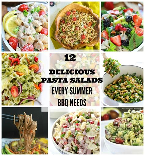 delicious summer pasta salad 12 delicious pasta salads every summer bbq needs