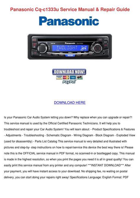 panasonic car audio and wire harness ebay