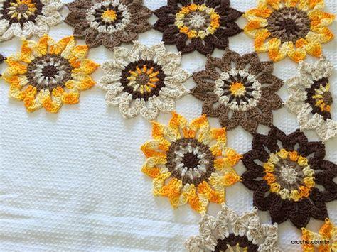 cortina de flores mais um trabalho pronto crochecombr