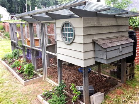 backyard honey bee hive keeping bees with chickens coop thoughts blog