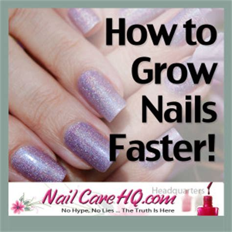 grow nails faster is there a product that helps grow