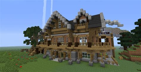 build a mansion pdf diy how to build wooden mansion minecraft download
