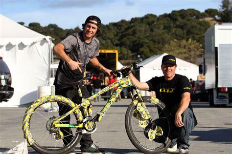 Fahrrad Sticker Bomb by A History Of Pranking Mccaul S Bike Sticker