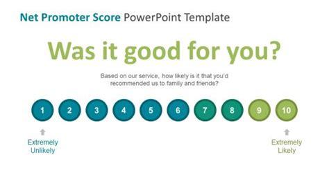 net promoter score survey template net promoter score powerpoint templates