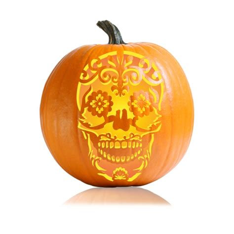 Product Find Pumpkin Sugar 2 by Sugar Skull Pumpkin Carving Stencil Ultimate Pumpkin
