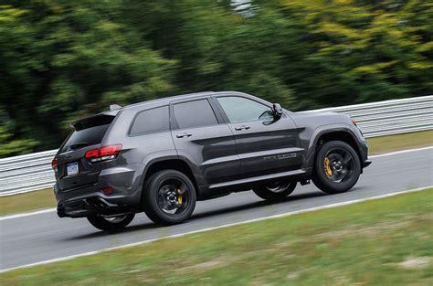 jeep grand cherokee trackhawk  review autocar