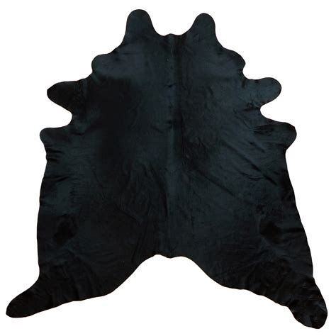 dyed cowhide rugs black dyed cowhide large