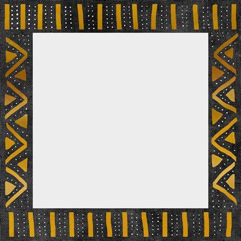 african pattern frame downloadable mudcloth inspired photo frames design sponge