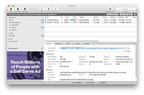 best torrent for mac the best torrent downloaders for mac for 2017