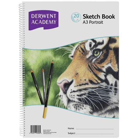 a3 sketch book book derwent academy a3 sketch book portrait officeworks