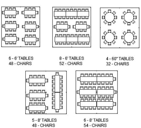 how many tables fit a 20x20 tent hemet rental tent layout ideas