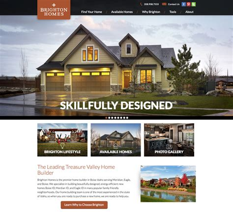 homes websites home builder websites meredith communications