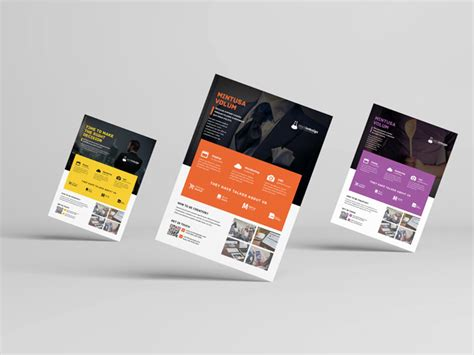 corporate flyer template workshop stockindesign indesign template of the month corporate flyer