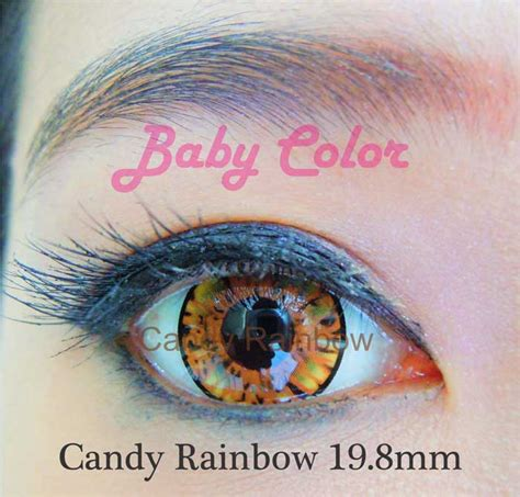 Softlens Buzan Color Normal Only rainbow baby color softlens brown pusatsoftlens