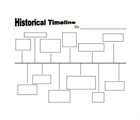free timeline template simple timeline template 10 free documents in