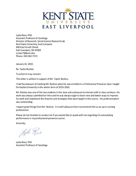 Recommendation Letter Research Assistant reference letter for research assistant professor letter