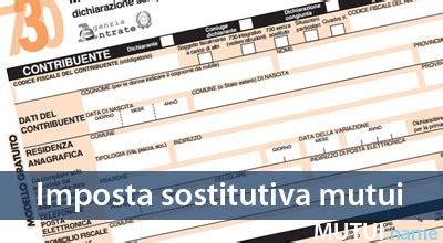 imposta registro seconda casa imposta sostitutiva mutuo prima e seconda casa 2018