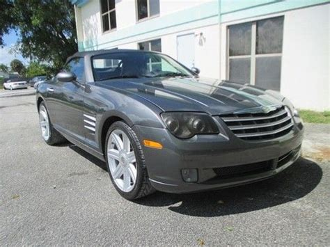 chrysler crossfire automatic find used 2005 chrysler crossfire limited automatic 2 door