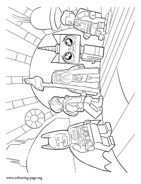 In this Lego Movie coloring page you will find Lord