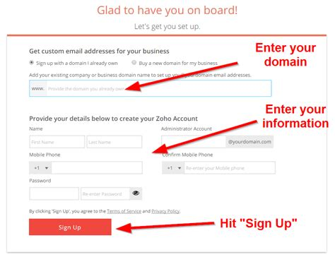 email domain step  step guide