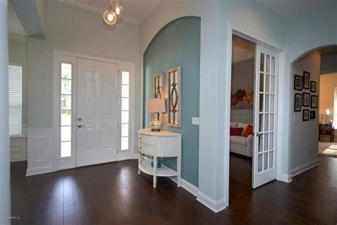 Warm Wall Colors 33 Gorgeous Foyers With Wainscoting