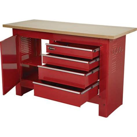 waterloo work bench waterloo 60in 4 drawer workbench with wooden top 60in w x