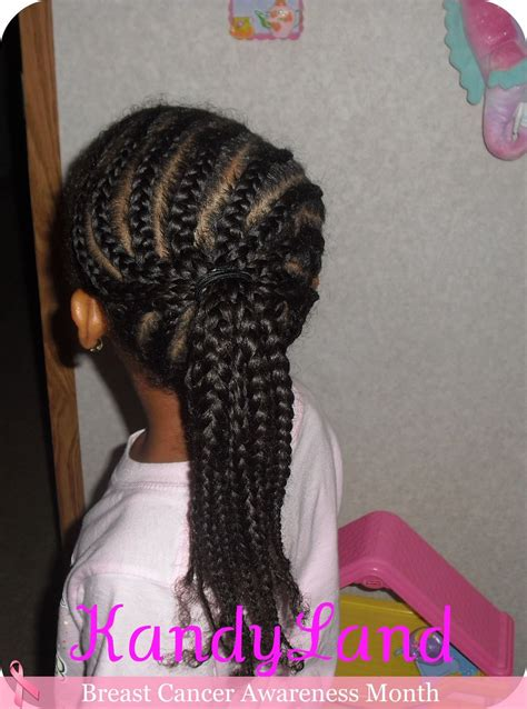 kandy braids kandyland braided ponytail