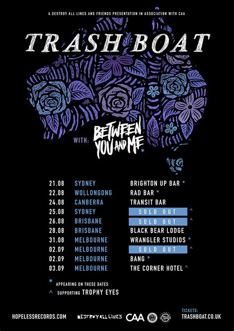 trash boat band facebook trash boat announce australian headline tour amnplify