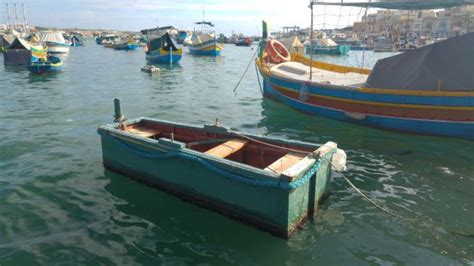 funny boat pictures small and funny boat picture of marsaxlokk bay