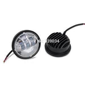 new motorcycle chrome led auxiliary spot fog passing