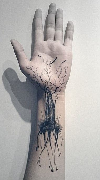 tattoo on hand arm 40 nice tree tattoos desiznworld