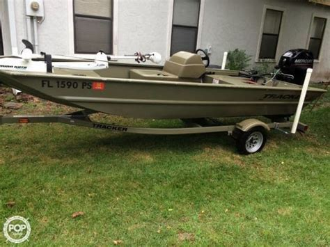 used bass tracker boats for sale in fl 2014 used tracker grizzly 1648 sc skiff fishing boat for