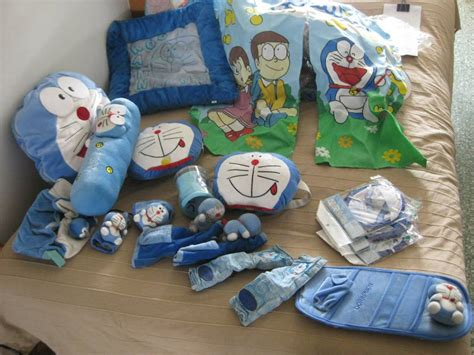 Dnctb Doraemon 5 In 1 Pillow Car Set Bantal Tulang Mobi Distributor doraemon car accessories for sale mcf marketplace