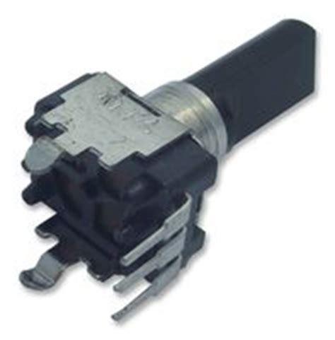 100k resistor farnell rk09k1130c94 alps rotary potentiometer 100 kohm 50 mw 177 20 rk09 series 1 turns linear
