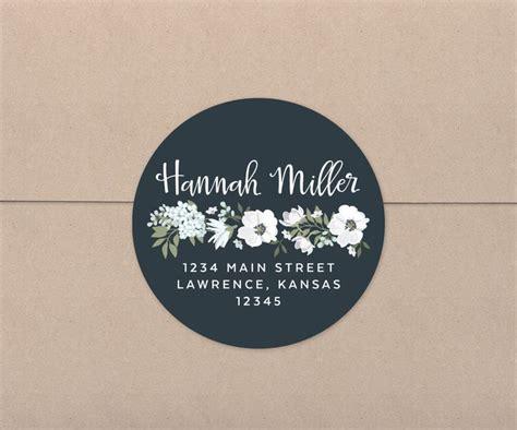 Address Label Stickers Wedding