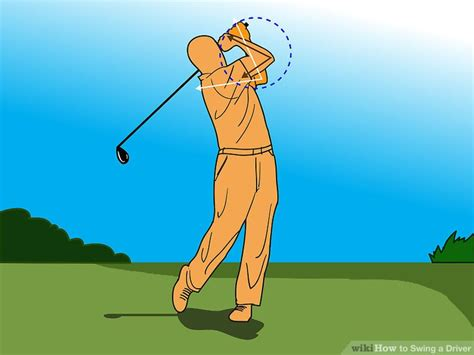 step by step driver swing how to swing a driver 10 steps with pictures wikihow