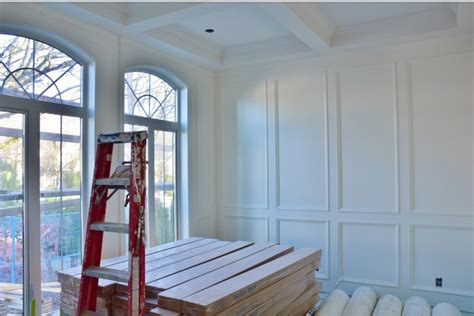 coffered walls how to build coffered ceilings and wall paneling part 2