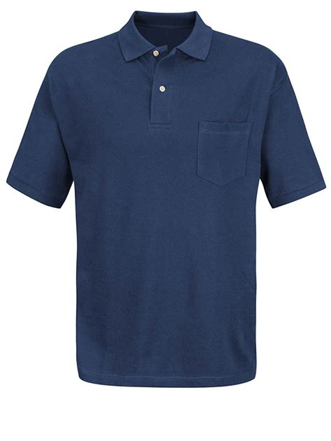 Basic Dress Polos By Rh Collection basic work polo shirt style 7702 with pocket i buss