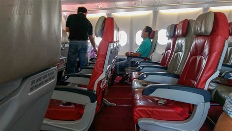 best standard seat on an airasia x a330 economy traveller