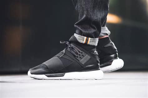 Adidas Y 3 Qasa High Blackwhite Premium High Quality 1 adidas y 3 qasa high black